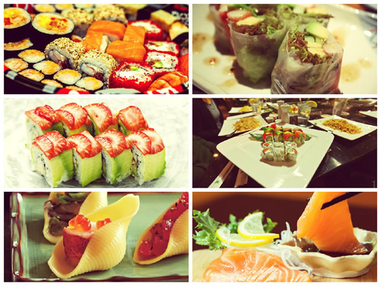 Какие суши и роллы едят в странах мира?