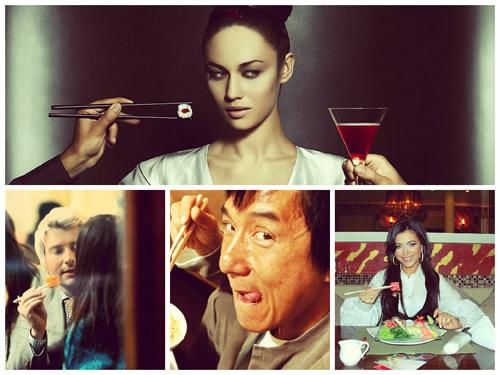 Какие суши и роллы предпочитают звезды шоу бизнеса?