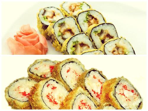 Рукоделие на тему суши и роллы
