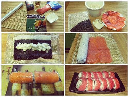 Приготовление суши своими руками 41